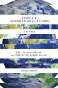 Ethics and International Affairs 3rd Edition 9781589012721 1589012720