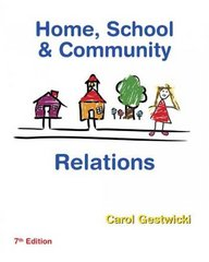 Home, School, and Community Relations 7th edition 9781435401082 1435401085