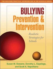 Bullying Prevention and Intervention 1st Edition 9781606230213 1606230212