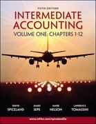 Intermediate Accounting Volume 1 Ch 1-12 w/Google Annual Report 5th edition 9780077284695 0077284690