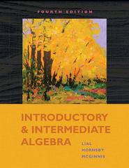 Introductory and Intermediate Algebra 4th edition 9780321575692 0321575695