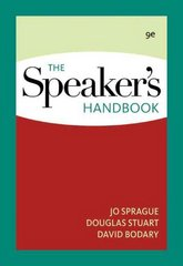 The Speaker's Handbook 9th Edition 9780495567479 0495567477