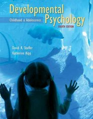 Developmental Psychology 8th edition 9780495601715 0495601713