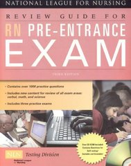 Review Guide For RN Pre-Entrance Exam 3rd Edition 9780763762711 0763762717