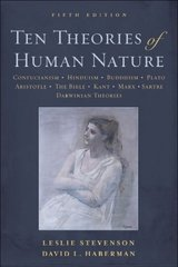Ten Theories of Human Nature 5th edition 9780195368253 0195368258