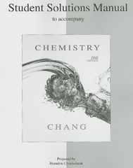 Student's Solutions Manual to accompany Chemistry 10th edition 9780073226743 0073226742