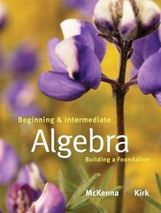 Beginning and Intermediate Algebra 1st Edition 9780201787375 0201787377