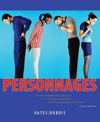 Personnages 4th Edition 9780470432167 0470432160