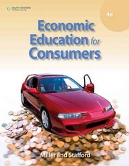 Economic Education for Consumers 4th edition 9780538448888 0538448881