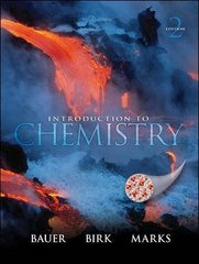 Introduction to Chemistry 2nd edition 9780077274306 007727430X