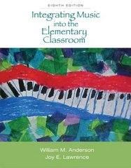 Integrating Music into the Elementary Classroom (with Resource Center Printed Access Card) 8th edition 9780495569855 0495569852