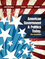 American Government and Politics Today 15th edition 9780495571704 0495571709