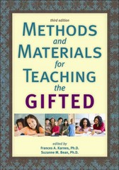Methods and Materials for Teaching the Gifted 3rd Edition 9781593633479 1593633475