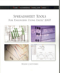 Spreadsheet Tools for Engineers Using Excel ® 2007 1st edition 9780077417086 0077417089