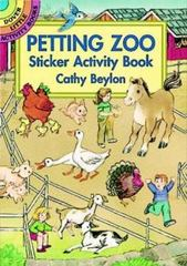 Petting Zoo Sticker Activity Book 0 9780486400983 0486400980