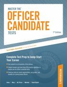 Master the Officer Candidate Tests 8th Edition 9780768927948 0768927943