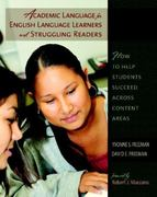 Academic Language for English Language Learners and Struggling Readers 0 9780325011363 0325011362