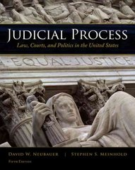 Judicial Process 5th edition 9780495569336 049556933X