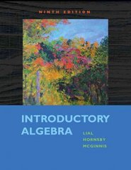 Introductory Algebra 9th edition 9780321557131 0321557131