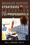 Behavior Support Strategies for Education Paraprofessionals 1st Edition 9781419696121 1419696122