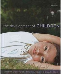 The Development of Children 6th edition 9781429202251 1429202254