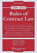 Rules of Contract Law 2009 0 9780735579385 0735579385