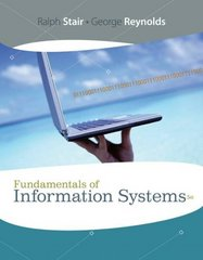 Fundamentals of Information Systems 5th edition 9781423925811 1423925815