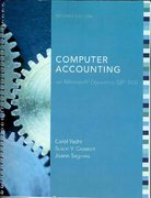 MP Computer Accounting with Microsoft Dynamics GP 10.0 2nd edition 9780077299385 0077299388