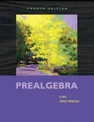 Prealgebra 4th edition 9780321567925 0321567927