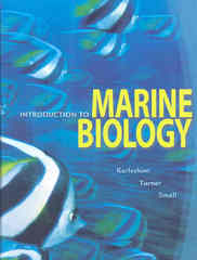 Introduction to Marine Biology 3rd edition 9780495561972 0495561975