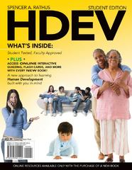 HDEV (with Review Cards & Printed Access Card) 1st Edition 9780495601524 0495601527