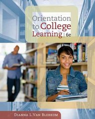 Orientation to College Learning 6th Edition 9780495570547 0495570540