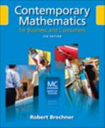 Contemporary Mathematics for Business and Consumers 5th edition 9780324568165 0324568169