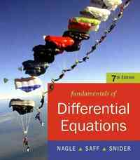 Fundamentals of Differential Equations 7th edition 9780321604347 0321604342