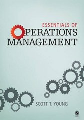 Essentials of Operations Management 0 9781412925709 1412925703