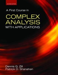A First Course In Complex Analysis With Applications 2nd edition 9780763757724 0763757721