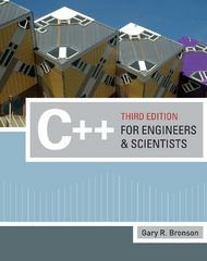 C++ for Engineers and Scientists 3rd edition 9780324786439 0324786433