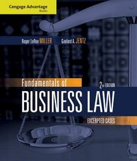 Cengage Advantage Books: Fundamentals of Business Law 2nd edition 9780324595727 0324595727