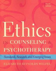 Ethics in Counseling & Psychotherapy 4th edition 9780495604181 0495604186