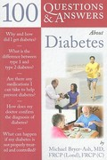 100 Questions  &  Answers About Diabetes 1st edition 9780763755393 0763755397