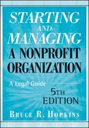 Starting and Managing a Nonprofit Organization 5th Edition 9780470397930 0470397934