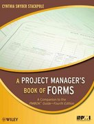 A Project Manager's Book of Forms 1st edition 9780470389843 0470389842