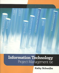 Information Technology Project Management (with Microsoft Project 2007 CD-ROM) 6th edition 9780324786927 0324786921