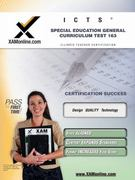 ICTS Special Education General Curriculum Test 163 0 9781581975765 1581975767