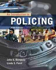 An Introduction to Policing 5th Edition 9781435480537 1435480538