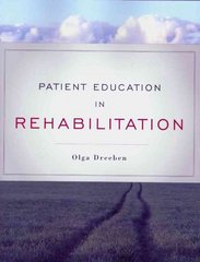 Patient Education in Rehabilitation 1st Edition 9780763755447 0763755443