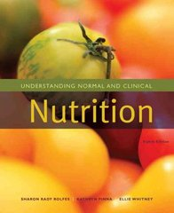 Understanding Normal and Clinical Nutrition 8th edition 9780495828792 0495828793