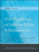 The Handbook of Student Affairs Administration 3rd Edition 9780787997335 0787997331