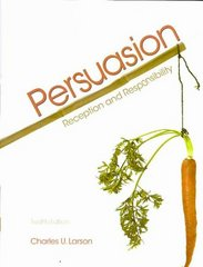 Persuasion 12th edition 9780495567509 0495567507
