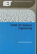 SysML for Systems Engineering 0 9780863418259 0863418252